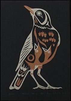 haida bird - Google Search                                                                                                                                                                                 Más