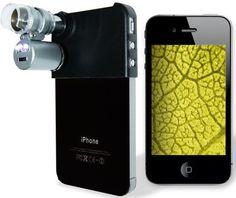 Mini-microscopio para iPhone