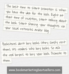 Here are two key book promotion tips for any book, any author, any ebook . . . #bookmarketingtip