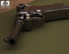 3D Model Luger P08 Parabellum c4d, obj, 3ds, fbx, ma, lwo 86610Loading that magazine is a pain! Get your Magazine speedloader today! http://www.amazon.com/shops/raeind