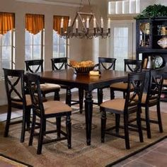 Dining Room Table Sets Bar Height - The Best Image Search
