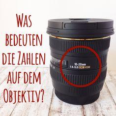 Pech&Schwefel: Fototipps am Freitag - Was bedeuten die Zahlen auf einem Objektiv?