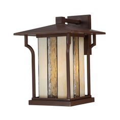 Quoizel LNG8411CHB Langston 1 Light Large Outdoor Wall Sconce in Chocolate Bronze