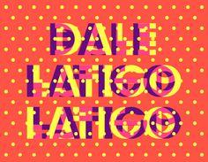 TANGA-TANGA Font - Velckro Artwork