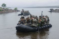 1-71 Cavalry trains with Dragoons in Canada