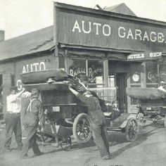 Model T Ford Forum: Old Photo - Moving a Model T With a Wheelbarrow