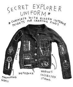 Secret Explorer Uniform