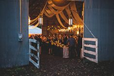 A Backyard Barn Wedding In The Woods: Lauren + Bud