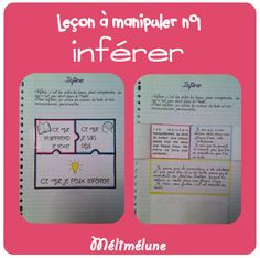 cahier interactif lecture - inférer
