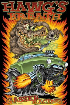 Britt Madding: Hot Rod & Monster Artist | Gallery 3