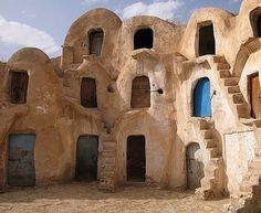 Tataouine, Tunisia by Tony Rocha.