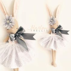 🐇 Miss Harlow Bunny 🐇 Tonight (Qld time) in my online shop (link in bio.you will need to register prior to purchasing)… Fabric Toys, Creation Couture, Sewing Dolls, Doll Maker, Fairy Dolls, Felt Toys, Diy Doll, Cute Dolls, Sewing For Kids