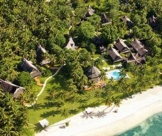 Coolest All-Inclusive Resorts: Dedon Island, Philippines.