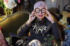 """""""My favorite style icons are the ones who are not afraid to be different"""" ~Iris Apfel ~ Photography by Ari Seth Cohen, featured on the Advanced Style blog"""