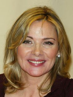 UMW stage makeup. Week 6. Contemporary Female Middle-Age. Looking for a round face. Kim Cattrall. Age 55. This famous Sex in the City star has a fabulous full face to recreate for a middle-aged woman. RS