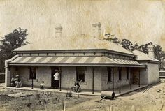 Engineer's cottage at Ryde Water Pumping Station,in north western Sydney in c1891.A♥W