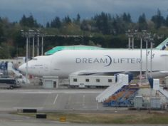 The Dreamlifter - there are just a handful