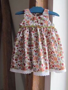 Toddler dress pattern links (tutorials in French)