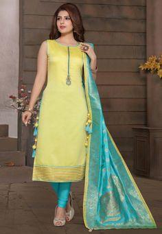 Salwar Designs, Silk Kurti Designs, Kurta Designs Women, Kurti Designs Party Wear, Salwar Suit Neck Designs, Simple Kurta Designs, Stylish Dress Designs, Fancy Blouse Designs, Sleeves Designs For Dresses