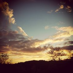 sunset gazing from out of the yoga windo.  Little French Retreat https://www.facebook.com/littlefrenchretreat?ref=hl