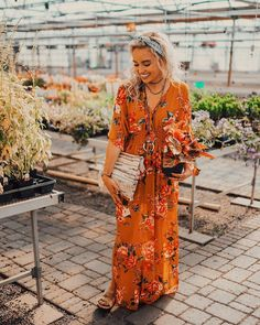 """5,110 Likes, 17 Comments - Hailey Marie (@dreaming_outloud) on Instagram: """"visiting my plant friends at the greenhouse  also, my outfit-of-the-week from @vicidolls is this…"""""""