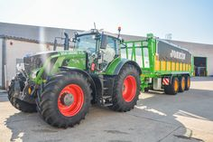 Drakkar 9600 with Duo-Cover covering + Fendt 936