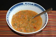Lamb Vegetable Soup...going to use this as base recipe soon to use the lamb bones I got today.
