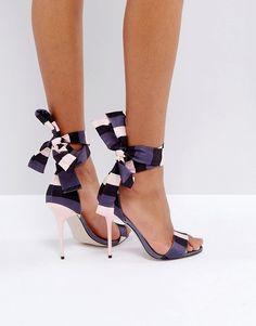 31423e1e406 ASOS HYPER Heeled Sandals Τακούνια Στιλέτο, Τακούνια Παπουτσιών, Παπούτσια,  Επιστημονική Έρευνα, Τακούνια