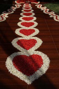 Flower Decor - La kiru-The Wedding Lounge by Lakshmi Keerthi Wedding Night Room Decorations, Welcome Home Decorations, Romantic Room Decoration, Birthday Room Decorations, Diy Diwali Decorations, Desi Wedding Decor, Marriage Decoration, Flower Decorations, Easy Rangoli Designs Videos