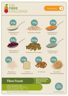 Fibre Foods Grains and Pulses