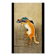 Poster-Vintage Japanese Art-Ohara Koson 15