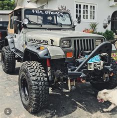 A collection of customized jeeps that I find cool and interesting. Jeep Wrangler Interior, 1997 Jeep Wrangler, Cj Jeep, Jeep Mods, Jeep Cj7, Jeep Wrangler Unlimited, Jeep Pickup Truck, Jeep Gear, Jeep Bumpers