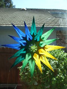 Colorful Window Star by lilliput23 on Etsy, $18.50