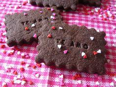Vicky Cake Amor: 14 de febrero: díselo con chocolate (cookies!)