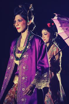 Peranakan by Ghea Indonesian Kebaya, Traditional Outfits, Ikat, Asia, Printing, African, Saree, Fancy, Culture