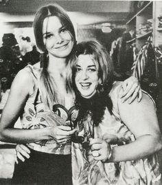 The Mamas and The Papas: Michelle Phillips and Mama Cass