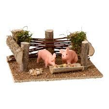 Resultado de imagen para complementos para el belen Nativity Creche, Christmas Nativity, Summer Crafts, Diy And Crafts, Diorama, Mini Fairy Garden, Fairy Gardens, Fairy Village, Fair Projects