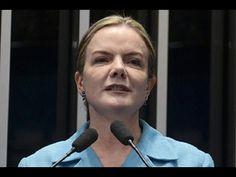 Gleisi Hoffmann anuncia presença de Lula e de Dilma em obra da transposi...