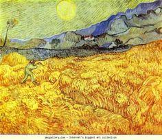 Vincent van Gogh. Reaper.