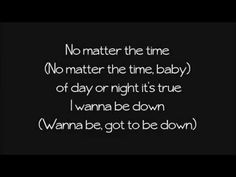 I Wanna Be Down ~ Brandy