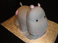 Little hippo cake <3