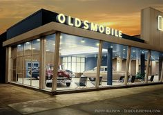 Oldsmobile dealership ... In the glory years!