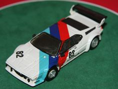 RECORD 1/43 HAND BUILT BMW M1 GROUP 4 RACE CAR MODEL CAR MADE FRANCE RESIN KIT #Record #BMW