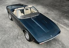 1970 Maserati Ghibli 4.7 Spyder by Ghia at Amelia Island Concours d'Elegance