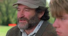 Robin Williams: RIP #Robin_Williams #Matt_Damon #Good_Will_Hunting