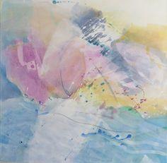 let the sun go down, acrylic 70 x70 cm ullavilloria.com