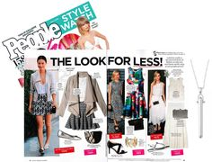 The Rebel Pendant dazzles in People StyleWatch – Actress Jamie Chung rocks it with a white tank. Get the look: www.stelladot.com/nicoleervin
