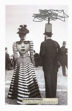 Overprepared But Never Underdressed | Cut & paste collage (p… | Flickr