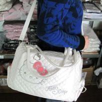 White Hello Kitty Shoulder Bag [AMB007W]