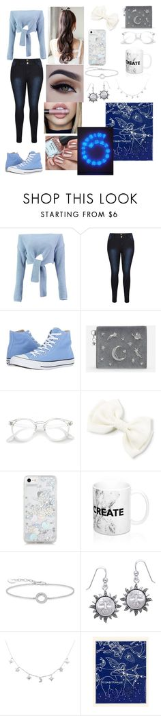 """Sagittarius"" by sweetheart-the-moonbear ❤ liked on Polyvore featuring Boohoo, Converse, CHARLES & KEITH, Skinnydip, Thomas Sabo and Carolina Glamour Collection"